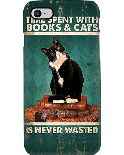 Books And Cats Phone Case YLT6