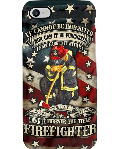 Forever Firefighter Phone Case YLD9