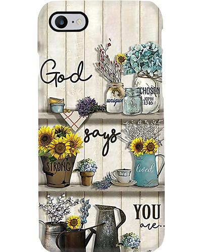 God Phone Case LA99