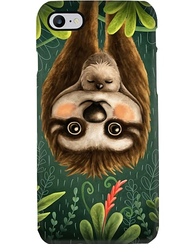 Sloth Family Phone Case NO96