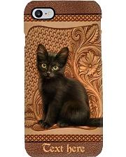 Little Black Cat Personalized Phone Case Q22A2 Phone Case i-phone-8-case