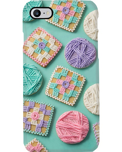 Crocheting Phone Case YNN5