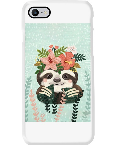 Lovely Sloth Phone Case M09T9