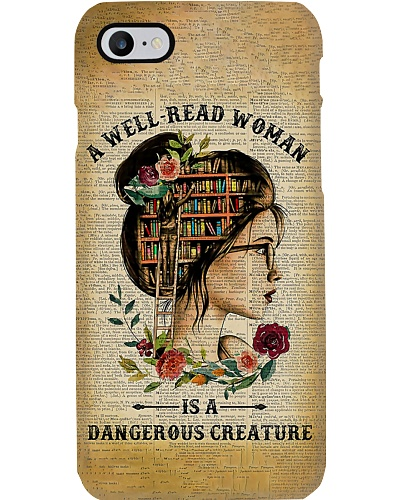 Well Read Phone Case CH03