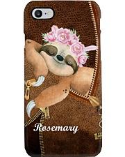 Sleeping Little Sloth Personalized Phone Case YTM6 Phone Case i-phone-8-case