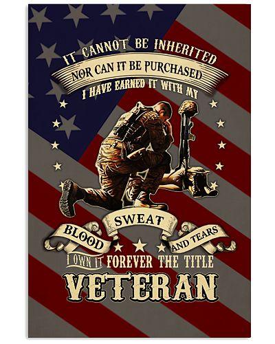 Veteran Vertical Poster YTH0