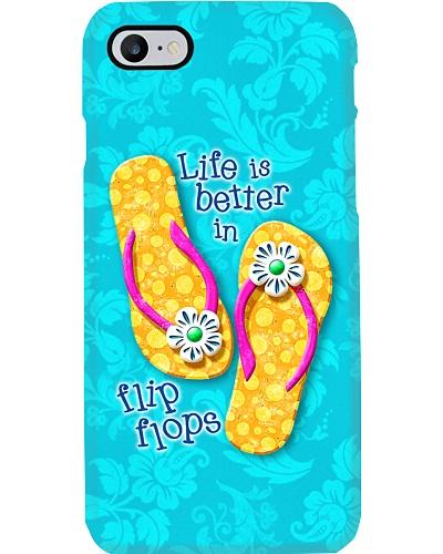 Floral Flip Flops Phone Case HU29