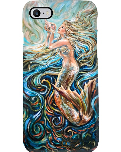 Mermaid Painting Phone Case CH03