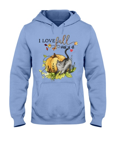 Cat - I love fall most of all YPH8