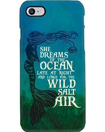 She Dreams Of The Ocean Phone Case YHN2
