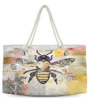 Bee Positive Y81H1 Weekender Tote back