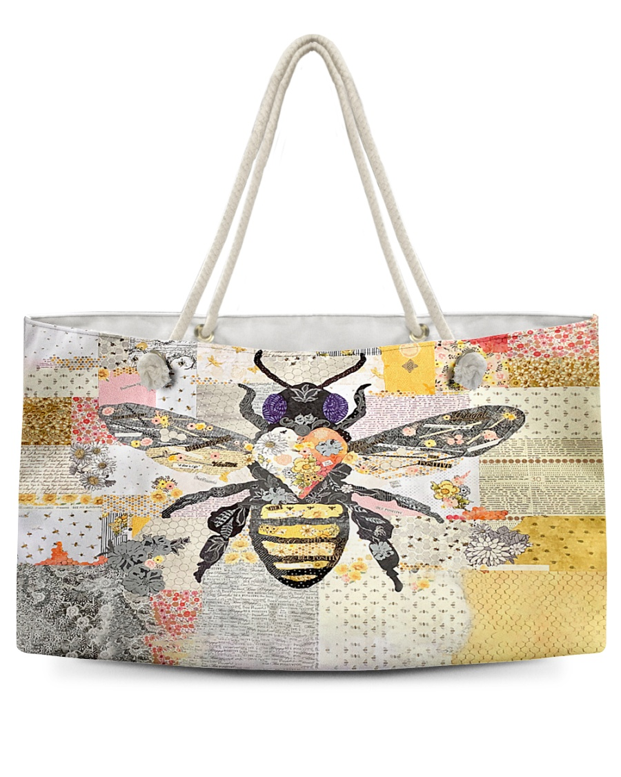 Bee Positive Y81H1 Weekender Tote