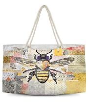 Bee Positive Y81H1 Weekender Tote front