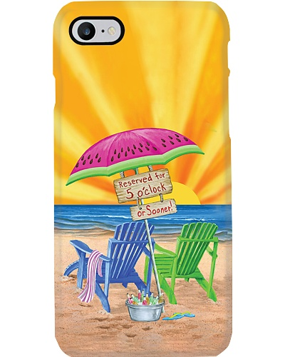 Time To Beach Phone Case YTP0