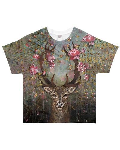 Floral Deer YHL1