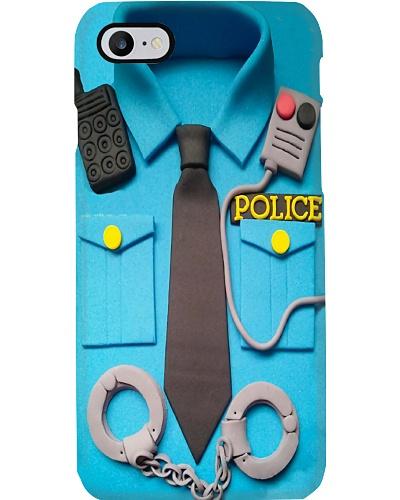 Police Uniform Phone Case Q22A2