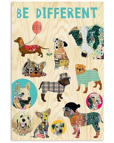 Be Different Vertical Poster YTA8
