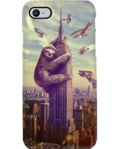 King Sloth Phone Case QE25