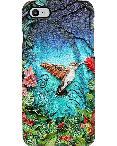Humming Bird In Forest Phone Case CH03