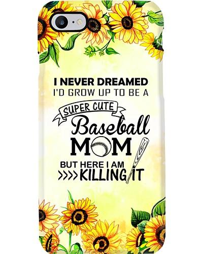 Baseball Mom Phone Case T19A9