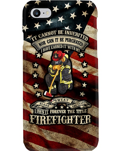 Firefighter Pride Phone Case HT10