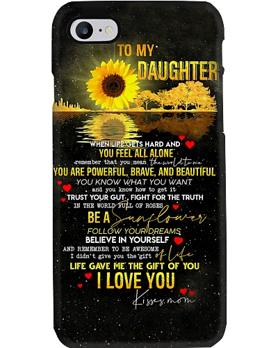Hippie Mom To Daughter Phone Case V14D3