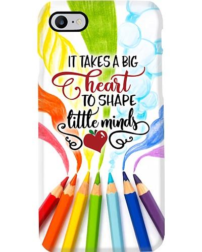 Big Heart Shapes Little Minds Phone Case YHT7