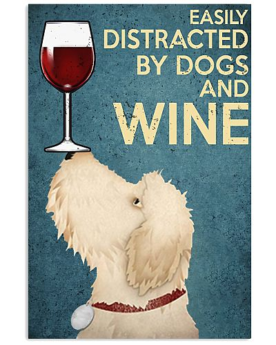 Doodles And Wine Vertical Poster YLT8