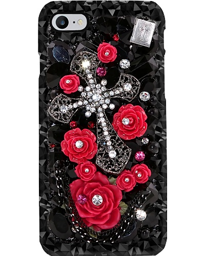 Cross And Roses Phone Case YPM0