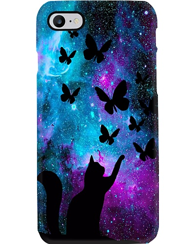 Cat And Butterfly Phone Case YTQ2