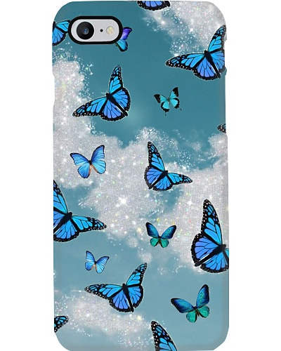 Butterfly Sparkling Phone Case YLP8