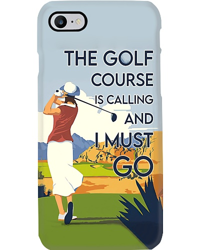Golf Course Is Calling Phone Case LA99