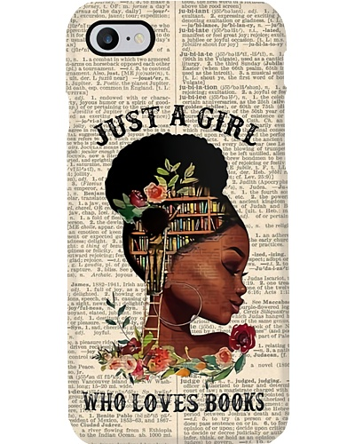 Girl Loves Book Phone Case YPA9