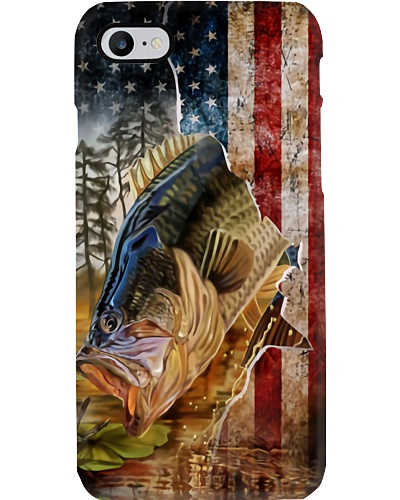 Vinatge Fishing Flag Phone Case YNA4