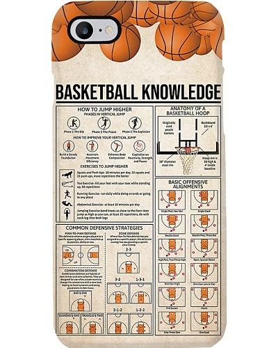 Basketball Knowledge Phone Case HU29