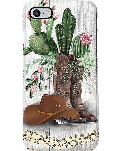 Cactus Boots Phone Case LV01
