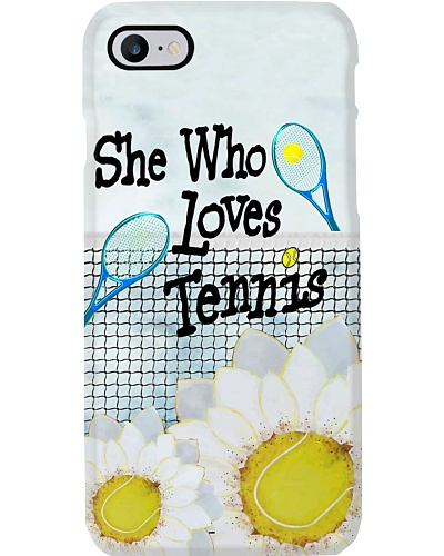 She Who Loves Tennis Phone Case YTP0