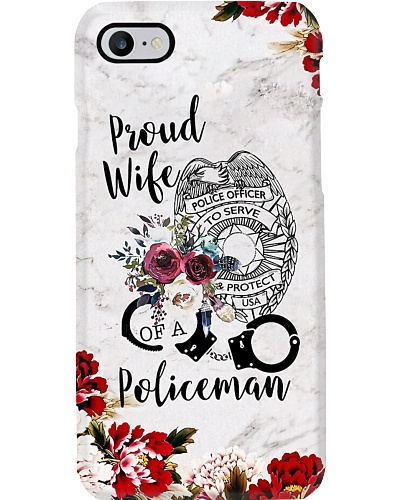 Proud Police Wife Phone Case NO96