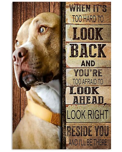 Too Hard To Look Back Vertical Poster YAD9