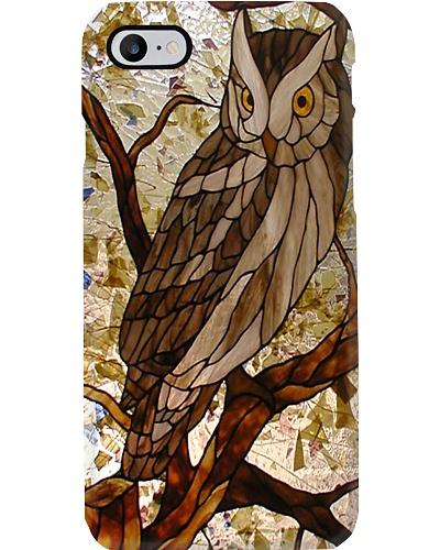 Glass Owl Phone Case YHA1