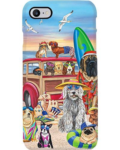 Dogs n Beach Phone Case HU29