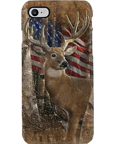 Deer In The Forest Phone Case CH03