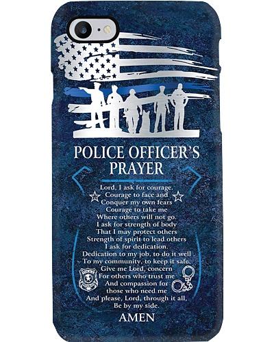 Police Officer's Prayer Phone Case NO96