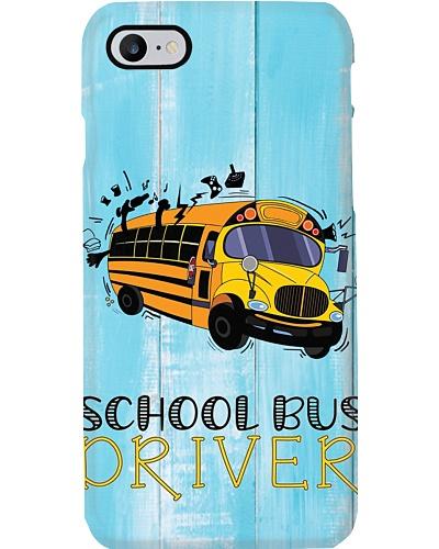 School Bus Driver Phone Case YCA1