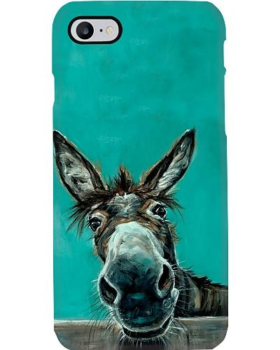 Lovely Donkey Phone Case V14D3