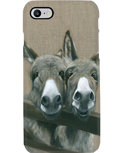 Two Donkeys Phone Case N31D1