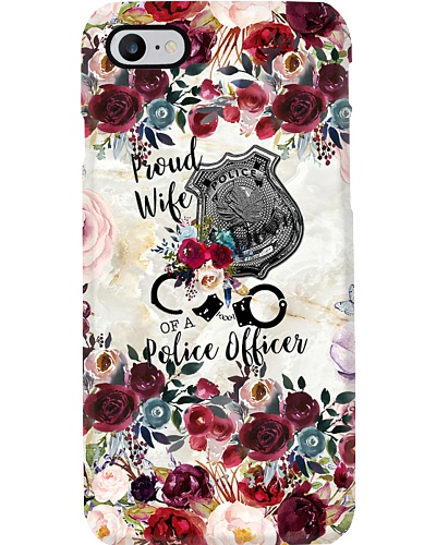 Proud Wife Of A Police Officer Phone Case HT10