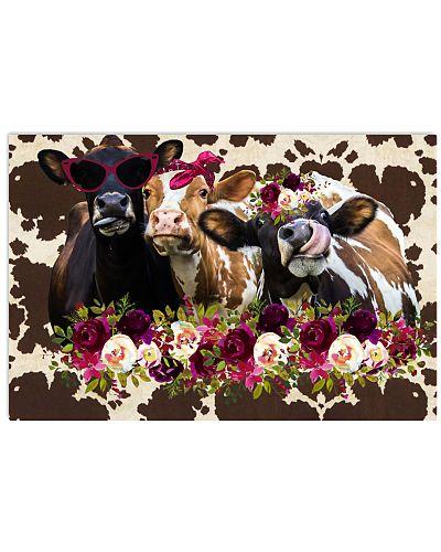 Cool Heifers Horizontal Poster YTV5