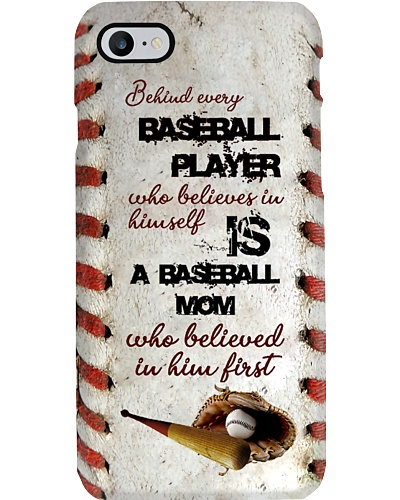 Behind Every Baseball Player Phone Case YLT6