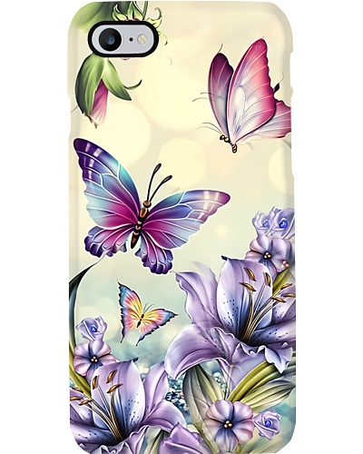 Butterflies n Lily Phone Case QE25